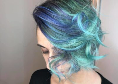blue hair hair salon lyndhurst