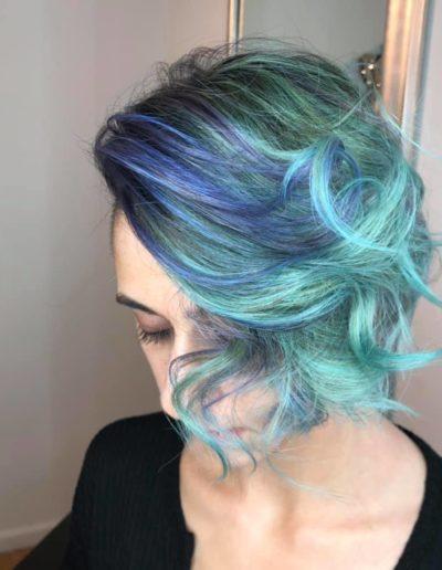 blue hair hair salon lyndhurst